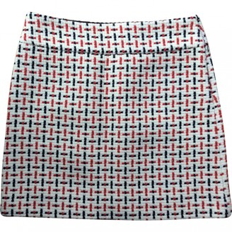 Comptoir des Cotonniers Ecru Wool Skirt for Women