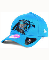 New Era Women's Carolina Panthers Glitter Glam 2.0 9FORTY Cap