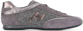 Hogan Metallic Low-Top Sneakers
