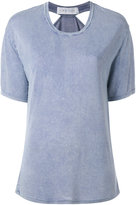 IRO 'Tylan' cutout faded effect T-shirt - women - Polyester/Viscose - S