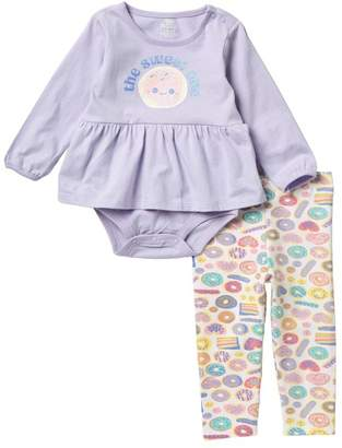 Koala Baby 2-Piece Bodysuit Set (Baby Girls)