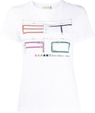 Etro logo jersey T-shirt