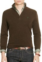 Polo Ralph Lauren Merino Wool Half-Zip Sweater