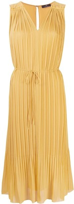 Paul Smith Pleated Sleeveless Dress