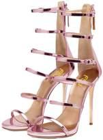 FSJ Women Hollow-out Sandals Open Toe Pumps High Heels Shoes Strappy Buckle Stilettos Size 7