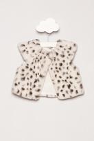 Little Loungers Faux Fur Vest