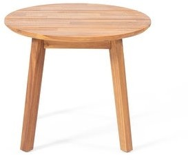 """Christopher Knight Home Brooklyn Outdoor Acacia Wood Side Table by 22.00"""" L x 22.00"""" W x 18.00"""" D"""
