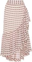 Ulla Johnson Gretchen High-Rise Cotton Wrap Skirt