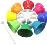 NEW Artiwood Rainbow Music Spinning Bells