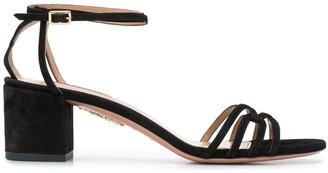 Aquazzura Strappy Block Heel Sandals