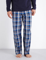 HUGO BOSS Urban check cotton pyjama bottoms
