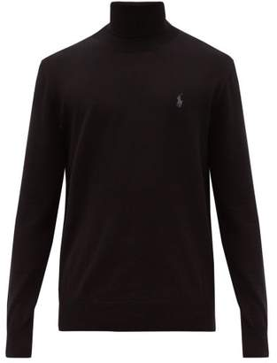 Polo Ralph Lauren Merino Wool Roll Neck Sweater - Mens - Black