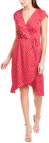 BCBGMAXAZRIA Printed Sheath Dress