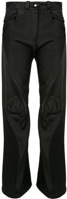 KIKO KOSTADINOV Contrast Panel Flared Style Trousers