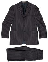 Burberry Pinstripe Two-Button Suit