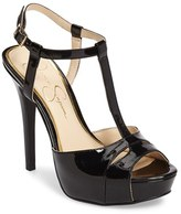 Jessica Simpson Women's Barretta T-Strap Platform Sandal