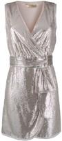 Liu Jo sequin wrap dress