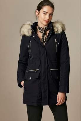 Wallis Womens Black Parka Coat - Black