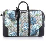 Gucci Pre-owned: Convertible Duffle Bag Blooms Print Gg Coated Canvas Medium.
