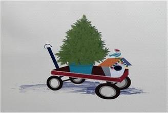 The Holiday Aisle Take Me Home Handwoven Light Gray/Green Rug Rug Size: Rectangle 2' x 3'