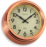 Bed Bath & Beyond Small Copper Kitchen Wall Clock