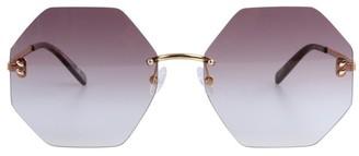 Stella McCartney Eyewear Geometric Sunglasses