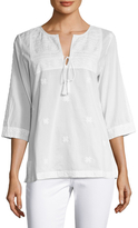 Figue Solene Cotton Embroidered Tunic