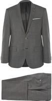 Hugo Boss - Grey Slim-fit Virgin Wool Suit