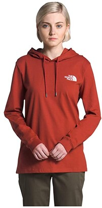 The North Face Peaceful Explorer Heavyweight Pullover Hoodie (Vintage White) Women's Clothing