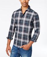 HUGO BOSS HUGO Men's Slim-Fit Cotton Plaid Shirt