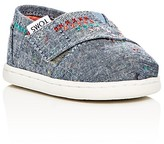 Toms Girls' Chambray Classic Flats - Baby, Walker, Toddler