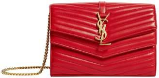 Saint Laurent MiniMetallic Kate Tassel Shoulder Bag