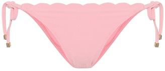 Heidi Klein Pampelonne scalloped bikini bottoms