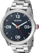 Nixon Women's 'G.I. SS, ' Quartz Stainless Steel Watch, Color:Silver-Toned (Model: A919-307-00)