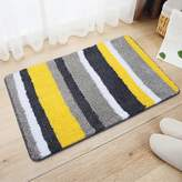 Ukeler s Colorful Entrance Doormat Non Slip Washable Decorative Floor Rugs for Home Bath and Hotel