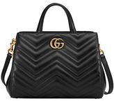 Gucci GG Marmont Small Matelassé Top-Handle Bag