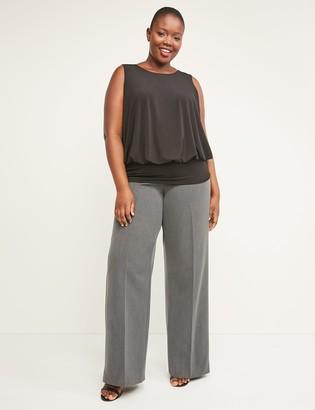 Lane Bryant Allie Tailored Stretch Wide Leg Pant