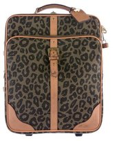 Mulberry Leopard Scotchgrain Trolley Suitcase