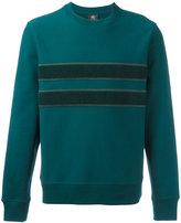 Paul Smith contrast stripe sweatshirt