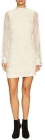 Plenty by Tracy Reese Lace Mandarin Collar Mini Dress