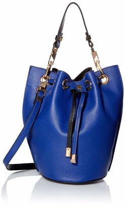 Luana Italy Women's Carla Mini Bucket Leather Handbag
