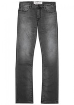 Jacob Cohën Pw969 Grey Slim-leg Jeans