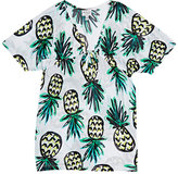 Milly PINEAPPLE-PRINT COVER-UP SIZE 2