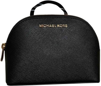 Michael Kors Black Leather Travel bags