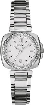 Bulova Women's Analog Quartz Diamond Bracelet Watch, 25mm - 0.22 ctw