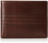 Nautica Men's Helm Pass Case Wallet with Removable Card Case