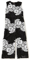 Marciano Big Girls 7-16 Striped Lace Jumpsuit