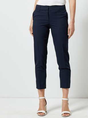 Dorothy Perkins Ankle Grazer Trousers - Navy