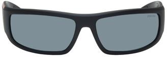 Prada Black Active Sunglasses