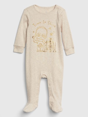 Gap babyGap | Star Wars Footed Bodysuit